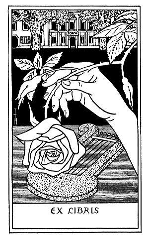 Ex Libris Rosen Stempel