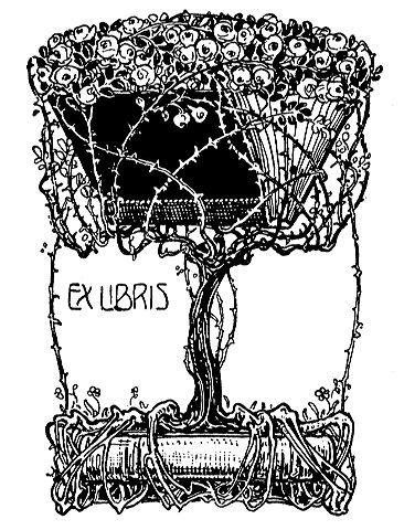 Ex Libris Rosenbaum Stempel