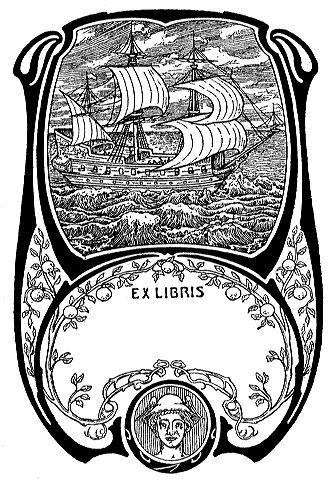 Ex Libris Schiff Stempel