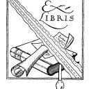 Ex Libris Buch Stempel