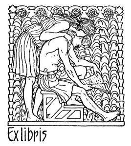 Exlibris Jugendstil